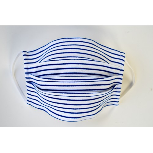 B8014 BLUE STRIPES MASKA ZA LICE