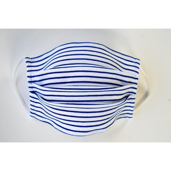 B8014 BLUE STRIPES MASKA ZA LICE