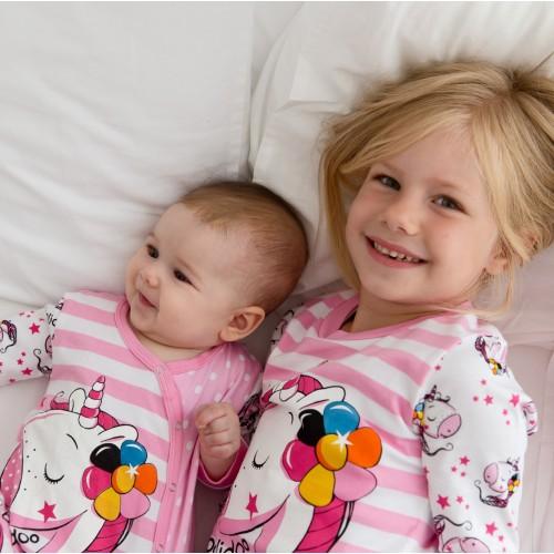 G5001 UNICORN BABY PIDŽAMA