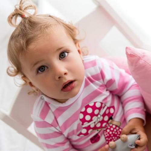DOTS BABY BODI DUGI RUKAV